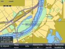 Duna Magyaro. Szlovákia digitális térkép Lowrance