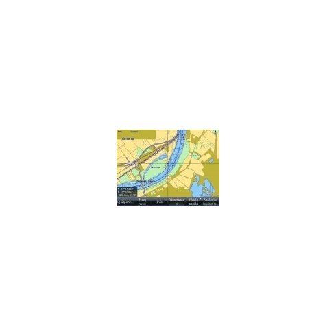 Duna RO, BG, Fekete-tengerig digitérkép Lowrance SOF