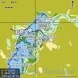 Tisza és Tisza-tó digitális térkép Lowrance