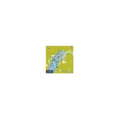 Tisza és Tisza-tó digitális térkép Lowrance MAR