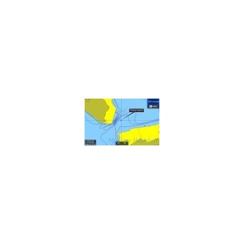 Balaton digitális térkép Lowrance