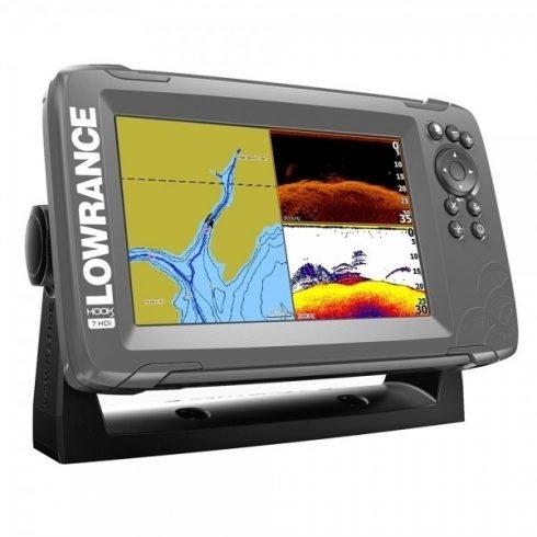 Lowrance Hook2-9 Splitshot GPS/halradar