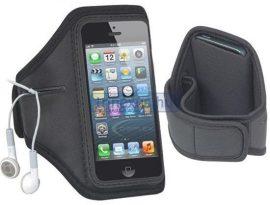 Telefontok karra rögzíthető iPhone 5 sorozathoz