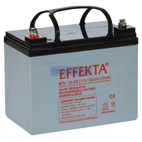 Akkumulátor Effekta 33Ah