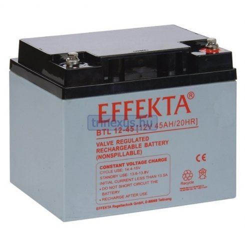 Akkumulátor Effekta 45Ah