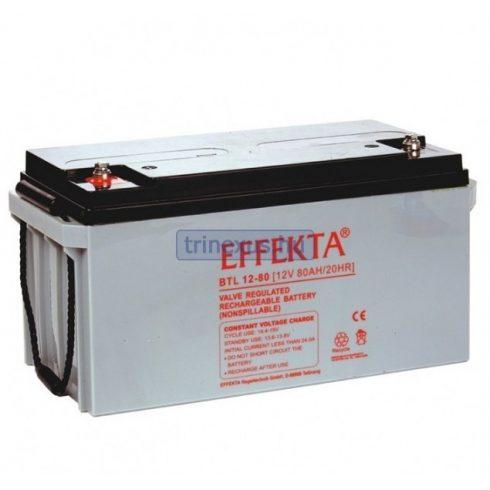 Akkumulátor Effekta 80Ah