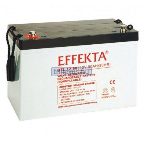 Akkumulátor Effekta 90Ah