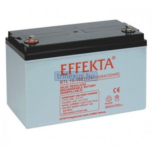 Akkumulátor Effekta 100Ah