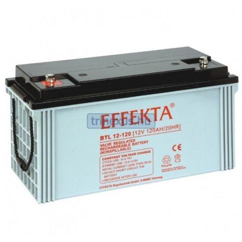 Akkumulátor Effekta 120Ah