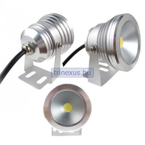 Keresőfény LED 10 W vízálló fém ezüst BAY