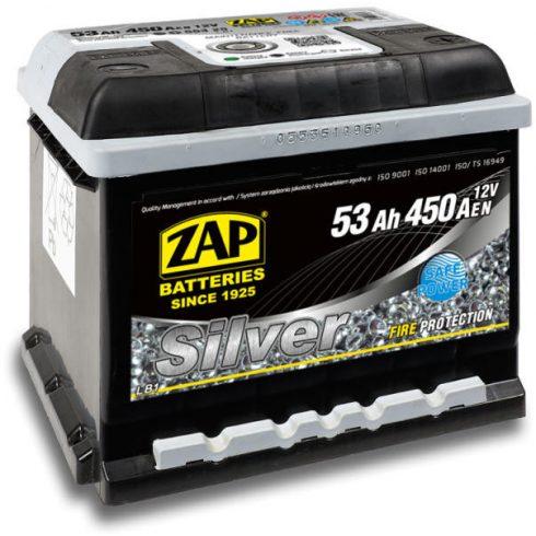 Akkumulátor ZAP Silver 53 Ah