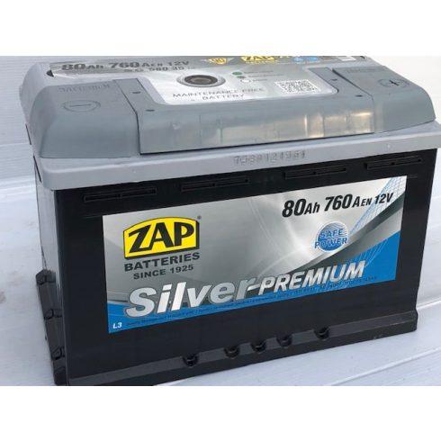 Akkumulátor ZAP Silver 80 Ah