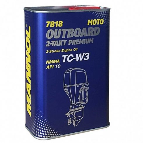 Mannol Premium TCW-3 kétütemű csónakmotor olaj