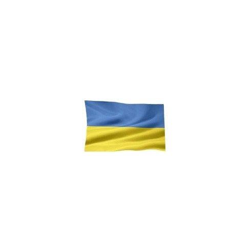 Lobogó ukrán 30 x 20 cm