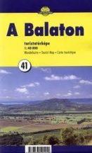 Könyv, Balaton túristatértkép 40