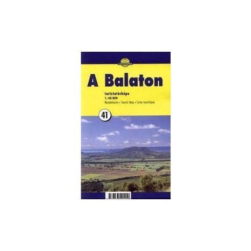 Könyv, Balaton túristatérkép 40