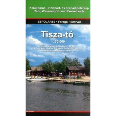 Könyv, Tisza-tó turistatérkép