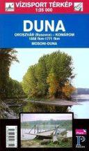 Könyv, Duna Pozsony-Komárom túristatérkép