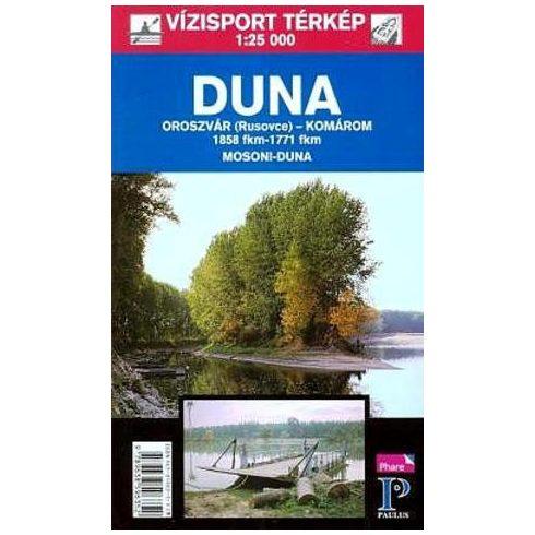 Könyv, Duna Pozsony-Komárom turistatérkép