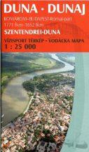 Könyv, Duna Komárom-Bp. túristatérkép