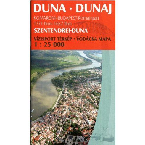Könyv, Duna Komárom-Bp. turistatérkép