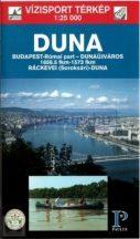 Könyv, Duna Budapest-Dunaújváros túristatérkép