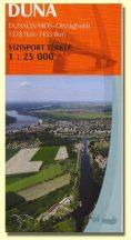 Könyv, Duna Dunaújváros-Országhatár túristatérkép