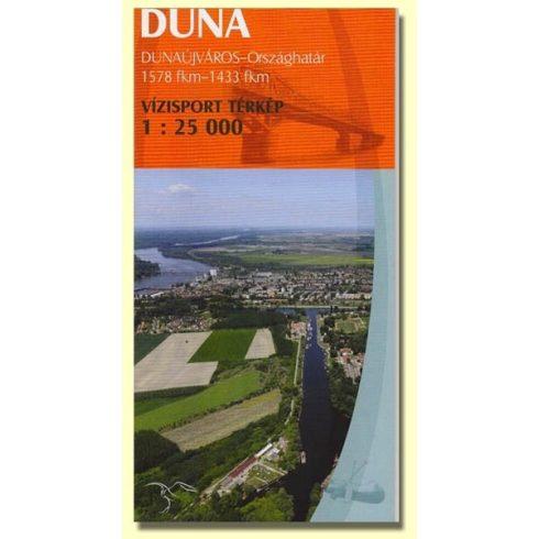 Könyv, Duna Dunaújváros-Országhatár turistatérkép