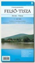 Könyv, Térkép Felső-Tisza Zsurk-Tokaj