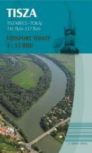 Könyv, Térkép Tisza Tiszabecs - Tokaj