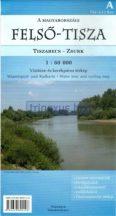 Könyv, Térkép Felső-Tisza Tiszabecs-Zsurk