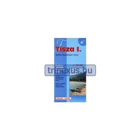 Könyv, Térkép Tisza 3. Tiszakeszi-Tiszaföldvár