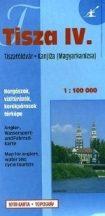 Könyv, Térkép Tisza 4. Tiszaföldvár-Magyarkanizsa