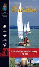 Könyv, Balaton szabadidő és hajózási térkép