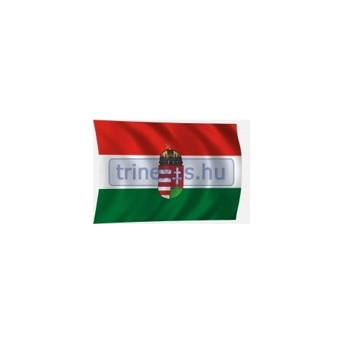 Lobogó magyar címeres 135 x 90 cm