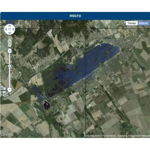 Navionics Micro Velencei-tó