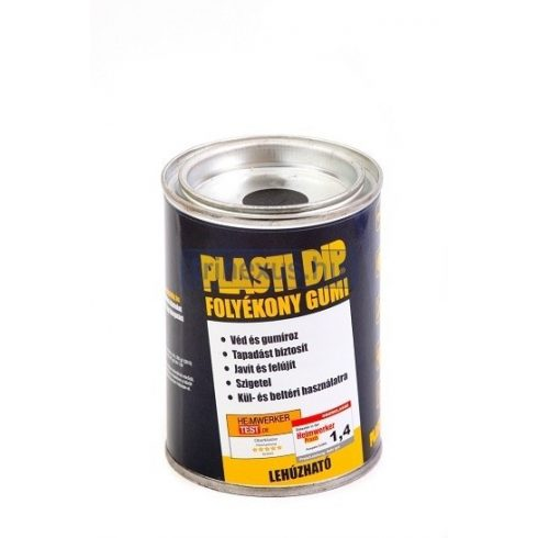 Plasti Dip gumibevonat sárga 200 g