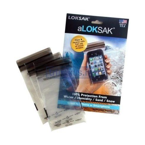 Vízhatlan tasak Loksak L-ALOK3-12X12 hármas csomag