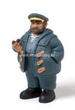 Hajósfigura Kapitány pipával