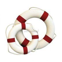 Mentőgyűrű dekor piros 35 cm
