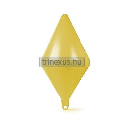 Bója jelölő kúpos sárga 66 cm CTR