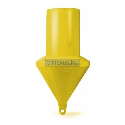 Bója jelölő hengeres sárga 161 cm CTR