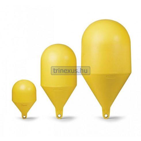 Bója jelölő gömbölyű sárga 66 cm CTR