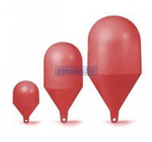 Bója jelölő gömbölyű piros 164 cm