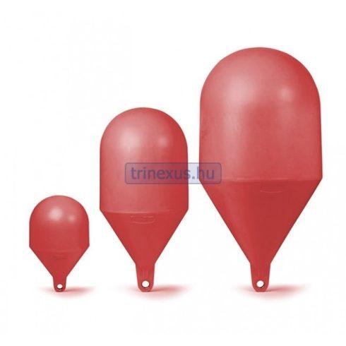 Bója jelölő gömbölyű piros 164 cm CTR