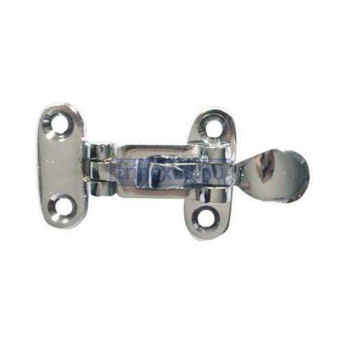 Retesz ajtóra feszítővel inox 105x50 mm EVA