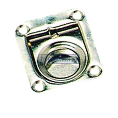 Fedélnyitó retesz rugós inox 45x40 mm EVA