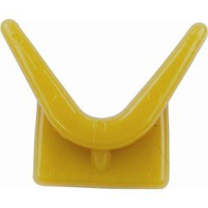 Trailer orr ütköző Y stop sárga 70x73x89 mm ATW