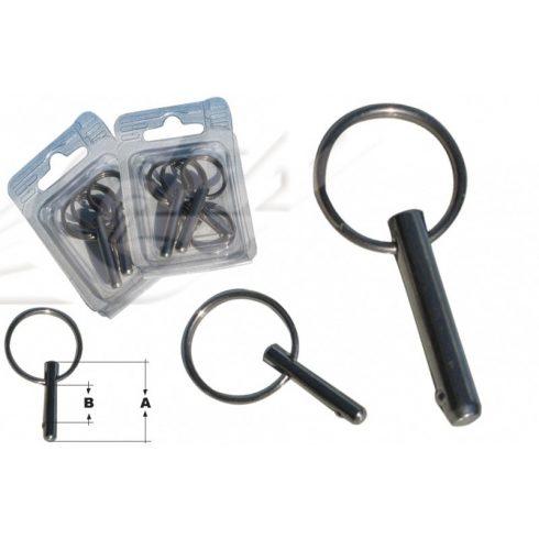 Biztosítószeg gyűrűvel bliszteres 6/30 mm 4 db GFN