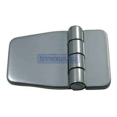 Zsanér fedett inox síkban 56,7x36,5 mm EVA